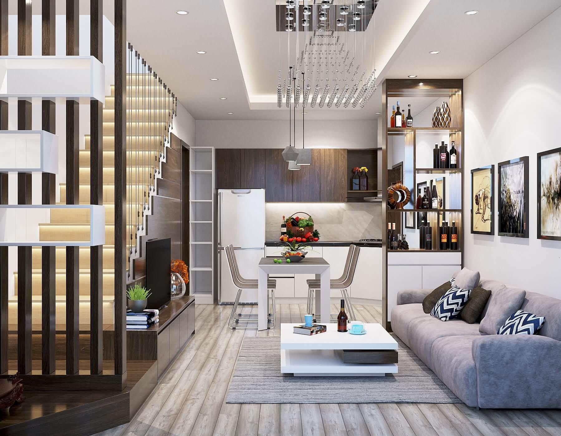 31+ Ý Tưởng thiết kế nội thất nhà phố Đẹp, HIỆN ĐẠI
